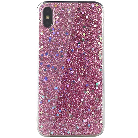 iphone xs glitter phone case