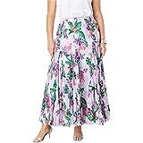 2b984556d39 Jessica London Women s Plus Size Pleated Maxi Skirt at Amazon ...
