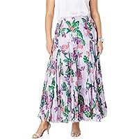 668836ea8dbb Jessica London Women s Plus Size Cotton Crinkled Maxi Skirt