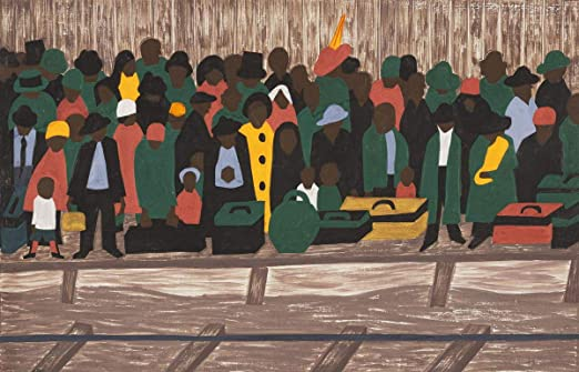 Jacob Lawrence The Negro press was also influential Giclee Paper Print Poster