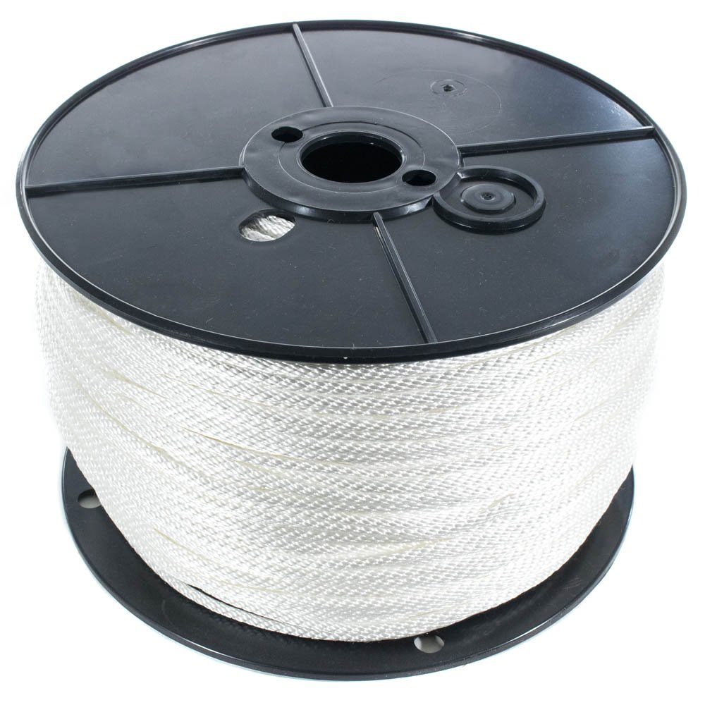 GOLBERG Solid Braid Nylon Rope in 1//8 5//16 5//32 and 1//2 inch Diameters Several Lengths 3//16 1//4 3//8