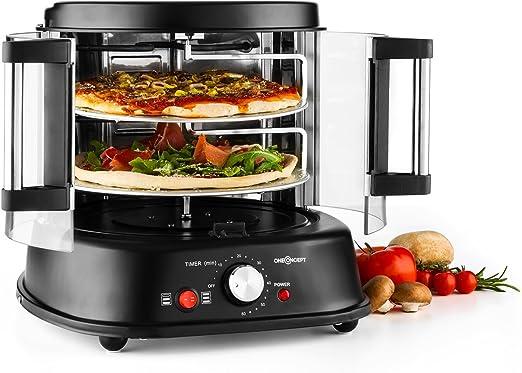 Oneconcept Pizzaparty Horno para Pizzas - Grill Vertical Giratorio ...