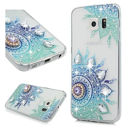 Amazon.com: Kawaii - Carcasa para Samsung Galaxy S6 Edge ...