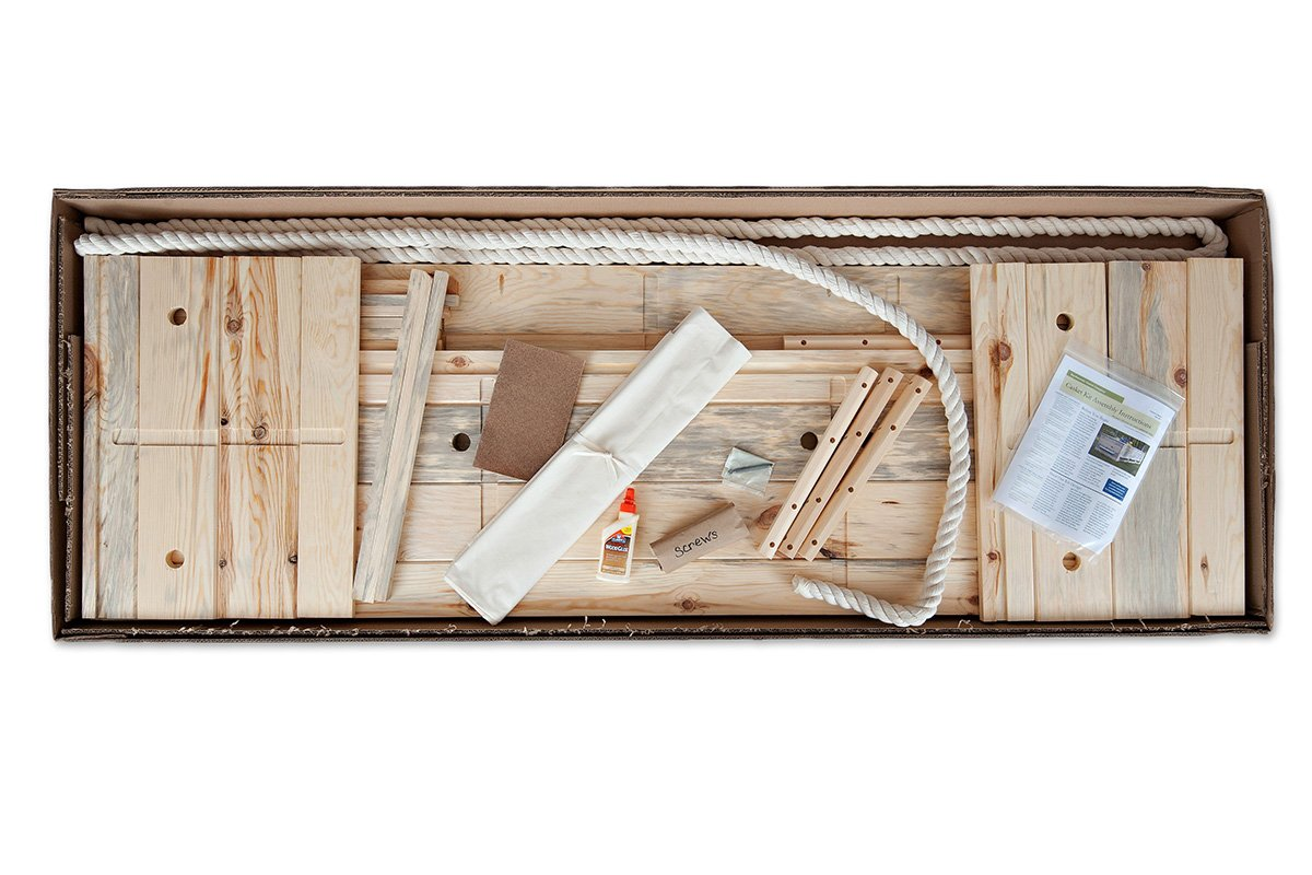Build-Your-Own Simple Pine Casket Kit - Made from Sustainable Pine From Wisconsin's North Woods - Suitable For Any Cemetery, Natural Burial, or Cremation - Wood Casket - Wood Coffin