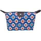 Parateck Zipper Closure Waterproof Makeup Bag Cosmetic Pouch Travel Bag Tote for Women Girls