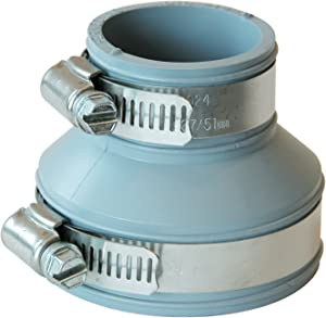 Fernco Inc. PDTC-215 2-Inch Drain and Trap Connector