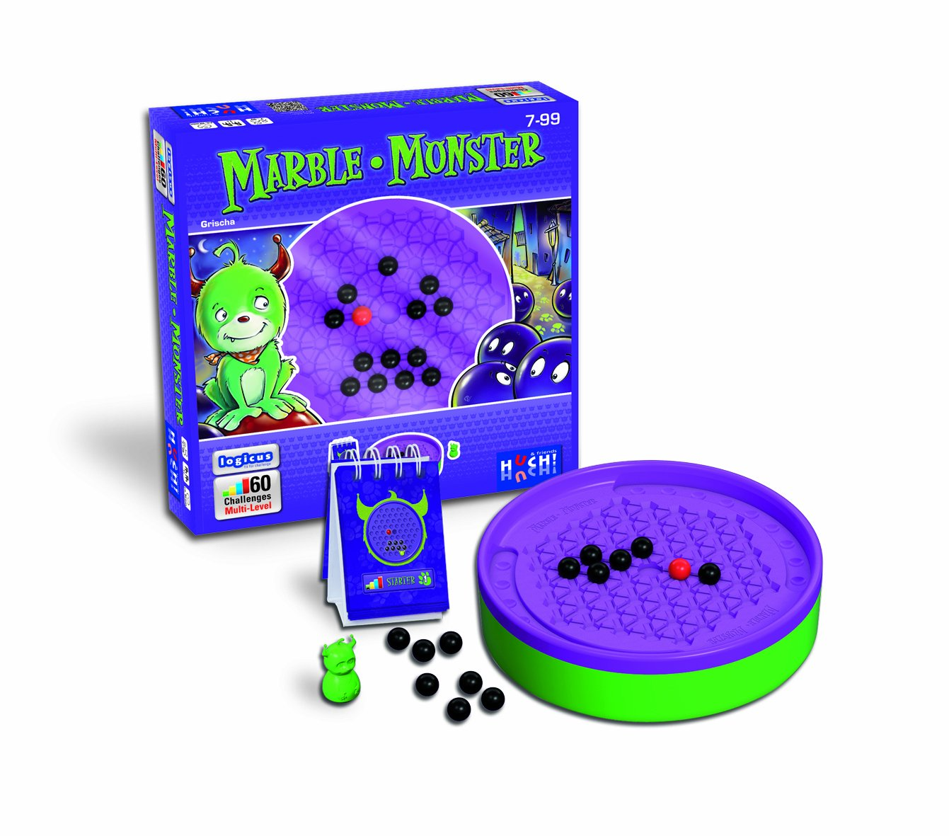 Huch & Friends 77284 Logicus: Marble Monster