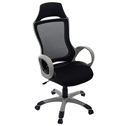 amazon com giantex modern ergonomic mesh high back executive