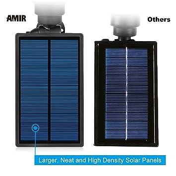 Amazon.com: Proyector solar Amir a prueba de agua con un ...
