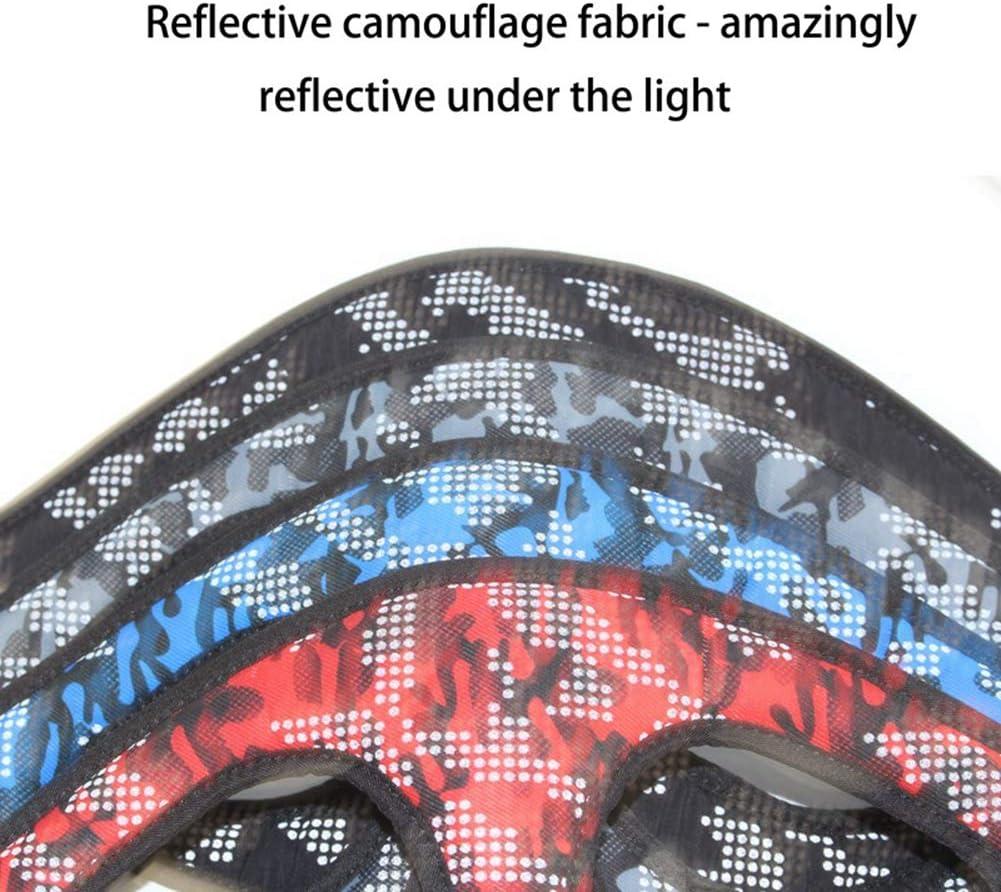 Shiningbaby Harnais Chien No Pull Small Medium Camouflage pour Animaux de Compagnie Camouflage R/éfl/échissant R/églable Sangle Poitrine Gilet Harnais