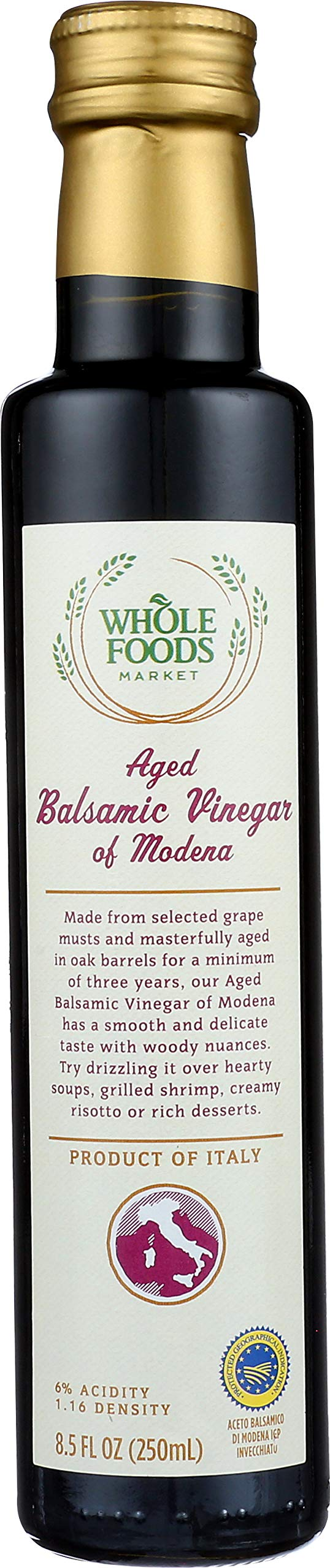365 Everyday Value, Aged Balsamic Vinegar of Modena, 8.5 oz