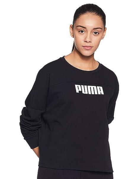 Puma Nu TILITY Cropped Crew Sweat, Felpa Donna: Amazon.it