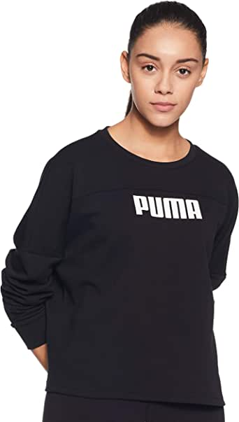 PUMA Women's NU-TILITY Cropped Crew Sweat