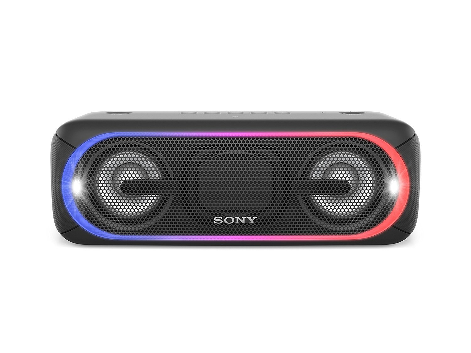 Sony XB40 Portable Wireless Speaker with Bluetooth and Speaker Lights, Black (2017 model)