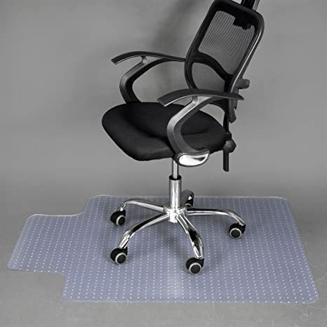 Office Chair Mat For Carpet Rug Floor By Somolux PVC Plastic Low