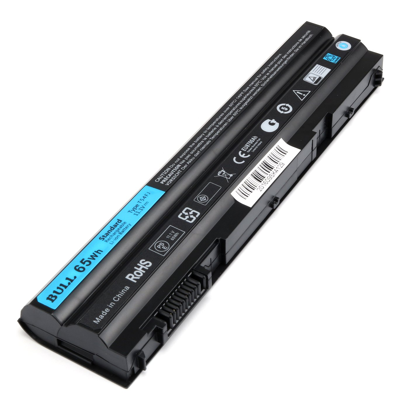 BULL-TECH 11.1V T54FJ New Laptop Battery for Dell Latitude E5420 E5520 E6420 E6520 Compatible P/N: M5Y0X 312-1163 HCJWT 7FJ92 by BULL-TECH (Image #3)