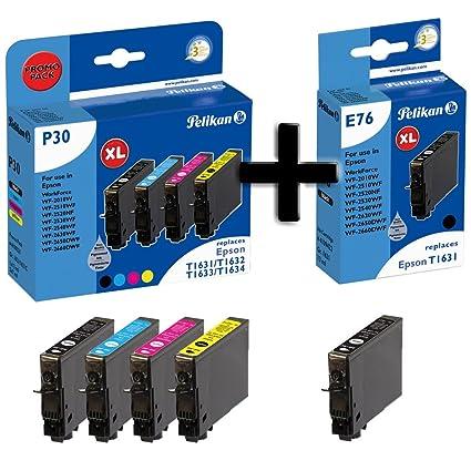 Pelikan P30 Cartuchos de impresora Promo Pack Plus 5, compatible ...