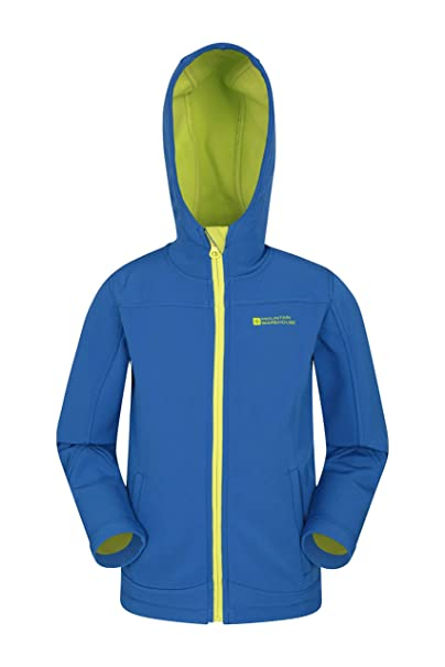 bfe85c951c9f Mountain Warehouse Exodus Kids Softshell Jacket - Breathable ...