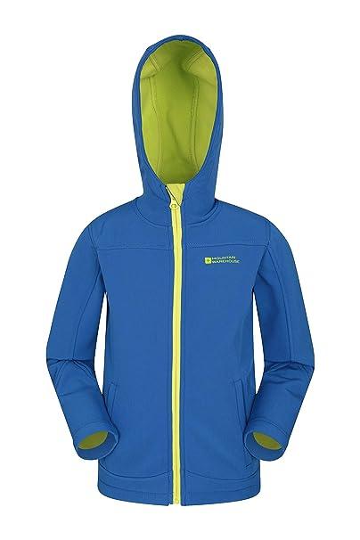 8913f50369d1 Mountain Warehouse Exodus Kids Softshell Jacket - Breathable Childrens  Jacket