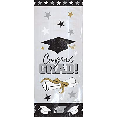 Graduation Cello Bags | Party Favor | Pack of 20: Toys & Games