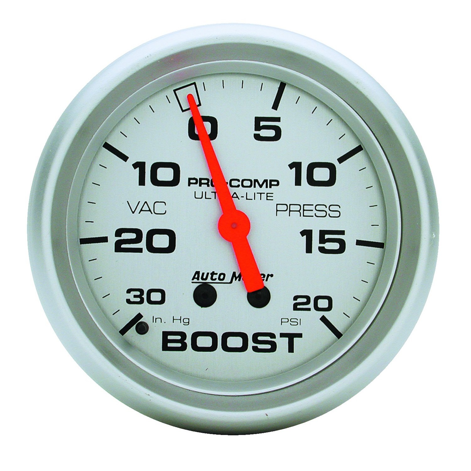 Auto Meter 4401 Ultra-Lite Mechanical Boost/Vacuum Gauge