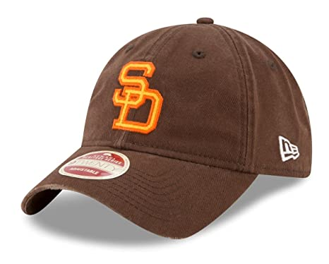 super popular dfa1c 572bf Image Unavailable. Image not available for. Color  New Era San Diego Padres  MLB 9Twenty Cooperstown Rugged Patch Adjustable Hat