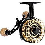 Fiblink Inline Ice Fishing Reel Right/Left Handed Fishing Raft Wheel Ice Reels