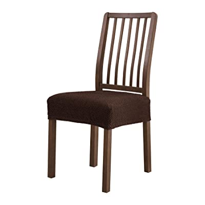 Removable Elastic Stretch Slipcovers Home Dining Chair Seat Covers Soft UK STOCK