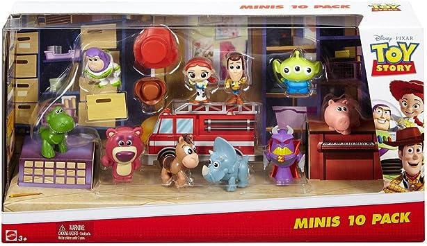 Disney Toy Story dyn69 Minis Cifras (Pack de 10): Amazon.es ...