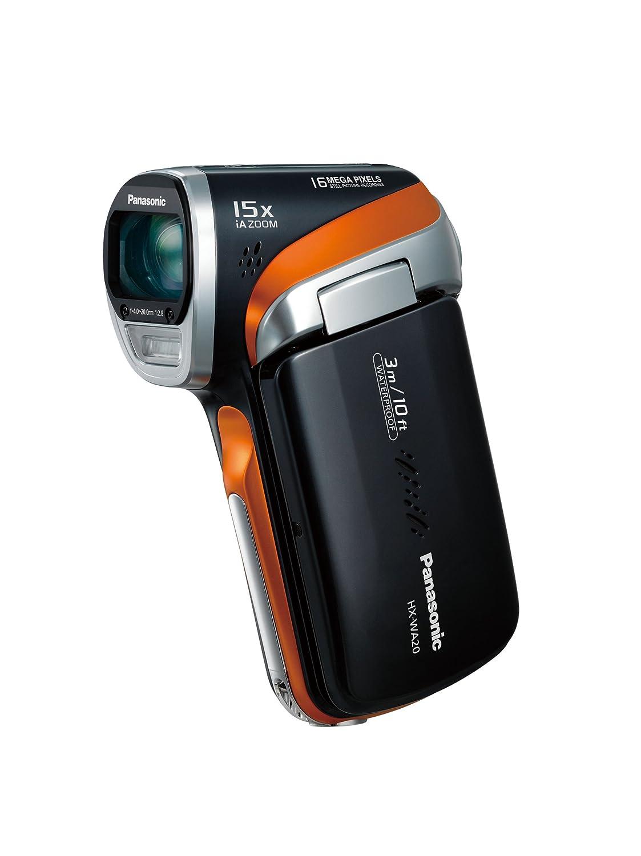 Panasonic デジタルムービーカメラ WA20 防水仕様 サンターングレー HX-WA20-H B007ND8CJS  サンターングレー