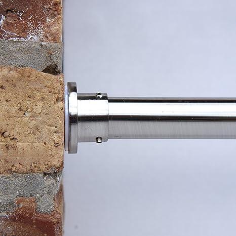 Bastone Per Tende A Pressione.Roomdividersnow Bastoni Per Tende A Pressione Premium 70cm 127cm