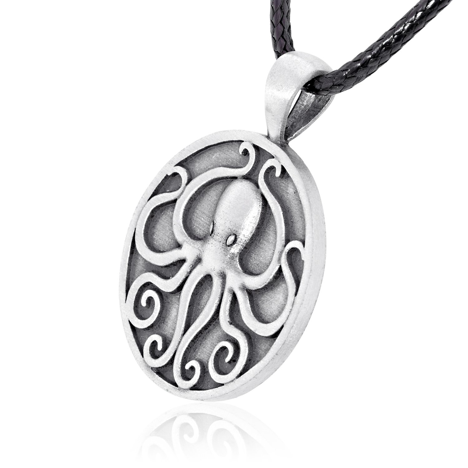 Dan's Jewelers Cthulhu Octopus Pendant Necklace, Fine Pewter Jewelry by Dan's Jewelers (Image #2)
