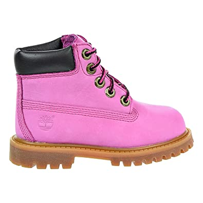 Timberland Kids Baby Girl s Susan G Komen 6 quot  Premium Waterproof Boot  (Toddler Little db6df3140