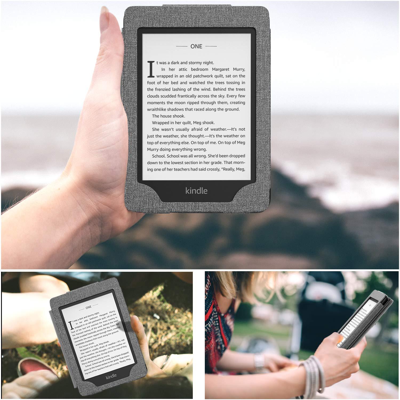 - Negro Superior Funda con Auto Sue/ño//Estela para  Kindle Paperwhite E-Reader 10th Generation, 2018 Release MoKo Funda para Kindle Paperwhite