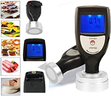 Vtsyiqi Water Activity Meter Monitor For Food Jerky Dried Fruit Vegetable Aw Monitor Range 0 To 1 0aw Accuracy 0 02aw Lcd Digital Display Amazon Com