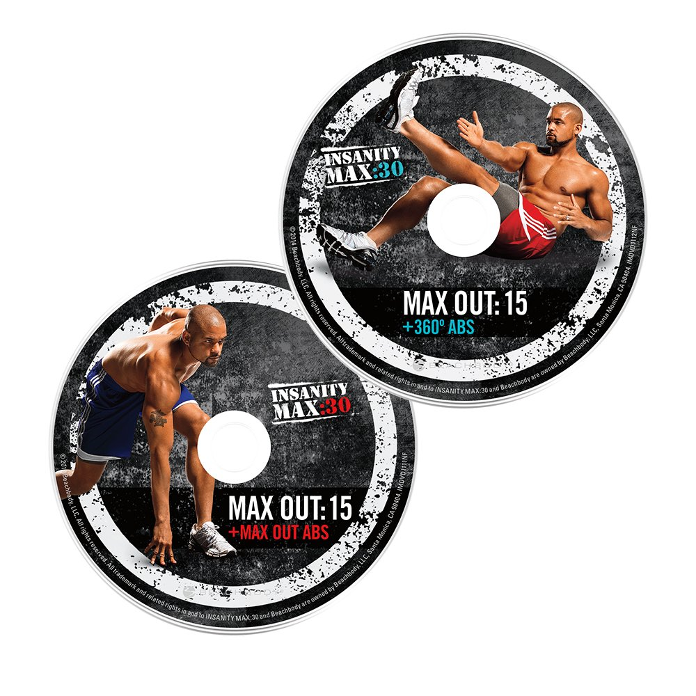 Shaun T's INSANITY MAX:30 Deluxe Kit - DVD Workout by Beachbody (Image #6)