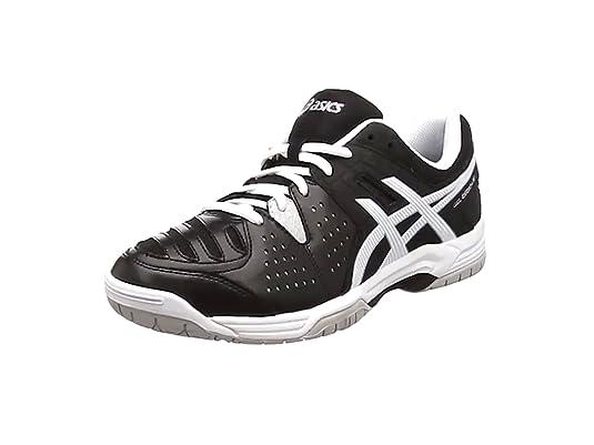 Asics Hombres Gel-Dedicate 4 Zapatillas De Tenis Zapatilla Todas Las Superficies Negro - Blanco