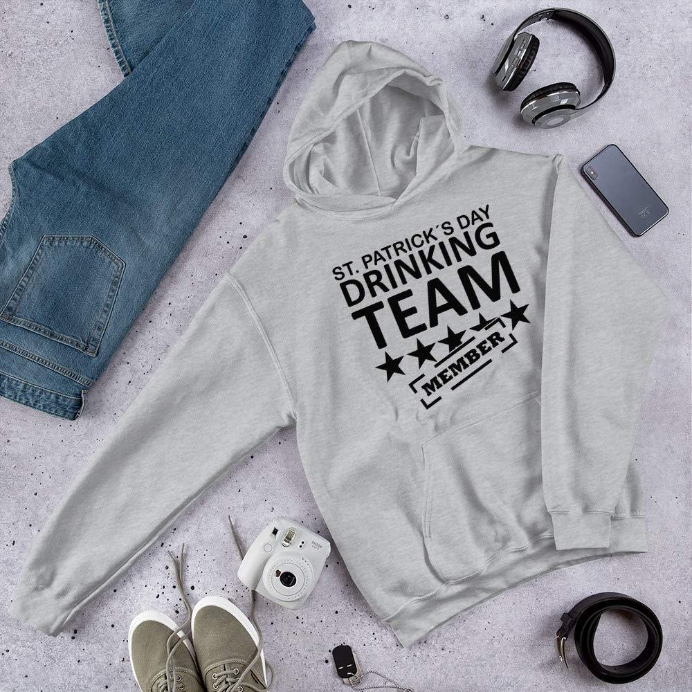 Hooded Sweatshirt Patrick/´s Day Drinking Team Member T-Shirts st Men/_s Premium T-Shirt Sport Grey