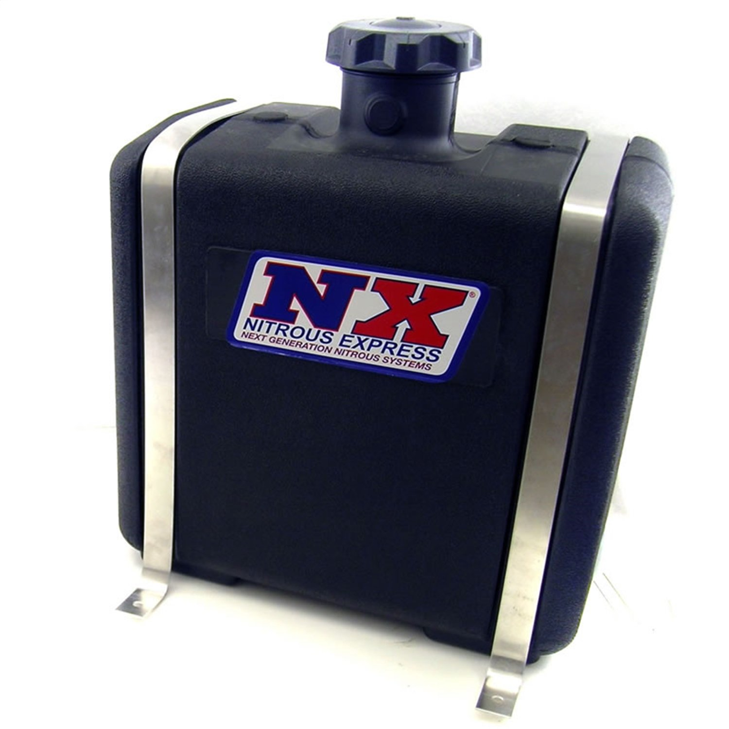 Nitrous Express 15051 7 gallon Reservoir with Bracket, Solenoid and Hose for Water-Methanol Injection System
