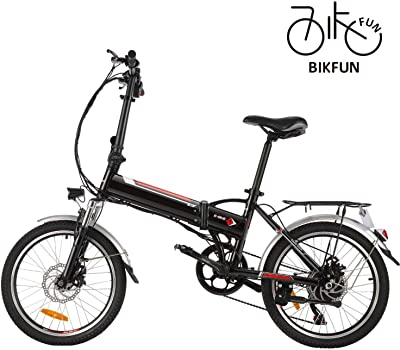 BIKFUN Folding Electric Mountain Bike