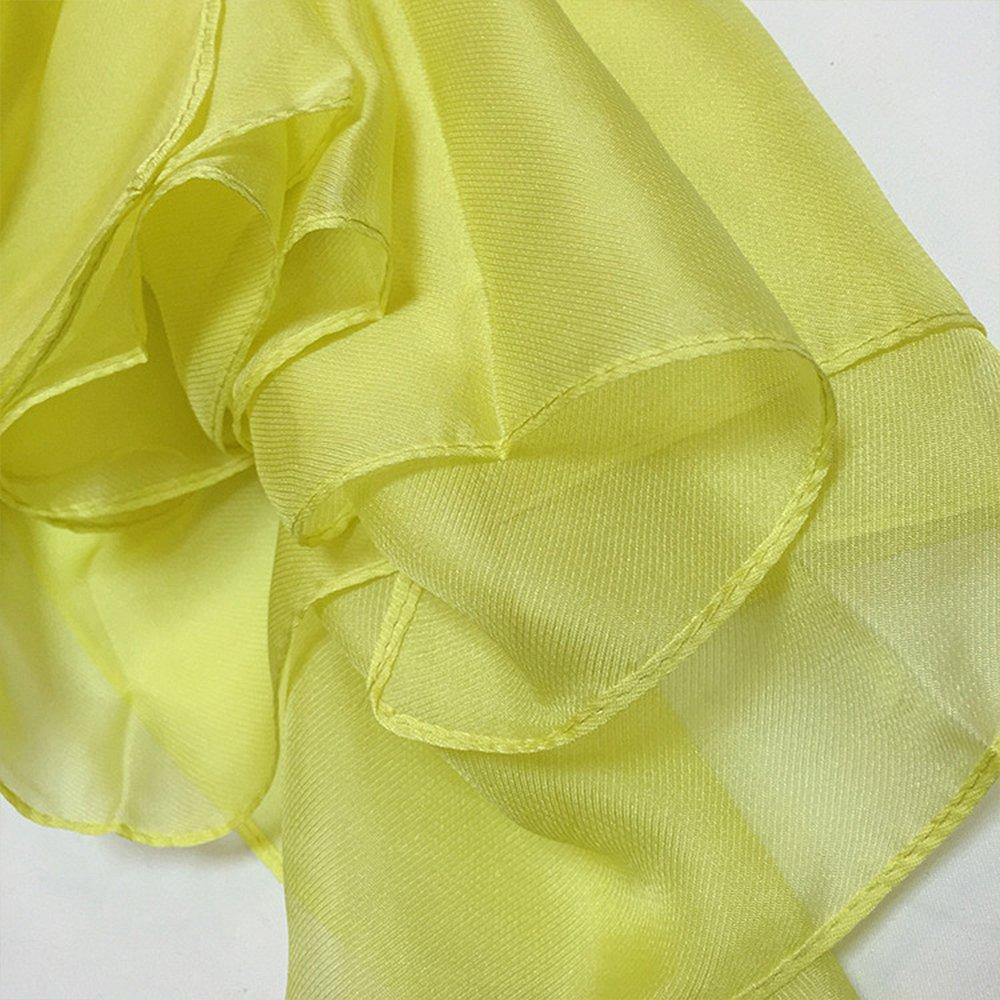 Elegante Multicolore Primavera Estate Sciarpa Scialle Coprispalle Shawl Soft Long Beach Scarves PLECUPE Donna Sciarpa Wraps Chiffon Scarf