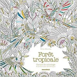 Coloriage La Foret Tropicale.Carnet De Coloriage Foret Tropicale Amazon Fr Millie