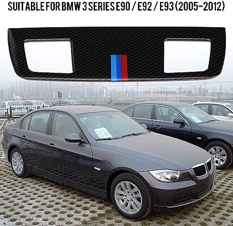 Bocchetta di Ventilazione per Auto Carbon Fiber Accessori per BMW E90 E92 E93 14.8 * 5.3cm in Fibra di Carbonio Ajboy