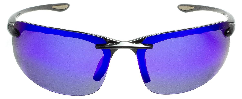 Floats Polarized F-4117 Sunglasses Unisex Sport Style Rimless Rubber nose /& earpiece non slip