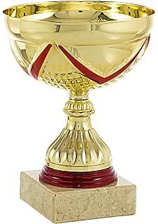 Art-Trophies TP191-7 Trofeo Ensaladera Flor, Plata, 12 cm ...