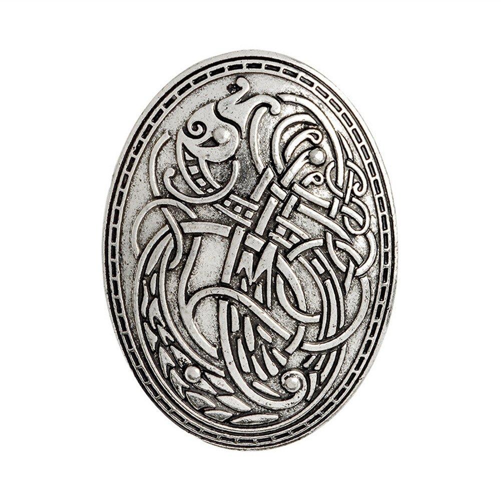 e57b1164bd5d High-Quality–Metal  Lead-free Nickel free Cadmium free Vintage Plating  Surface. Totem Badge   5.8cm x 4.2cm (2.3