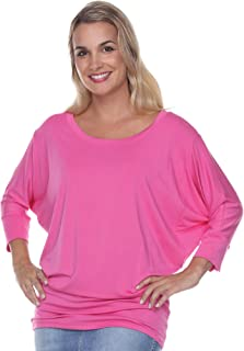 product image for JudyP Blu Women's Shantell Flashdance Top (8 Colors)