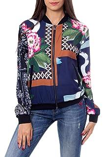 Amazon.com: Desigual Chaq_Karin - Chaqueta para mujer: Clothing