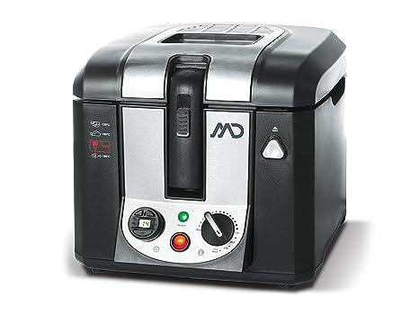 MD MDF de 5032//fritura 3 litros fritöse freidora Cool Touch ölbehälter extraíbles 2800