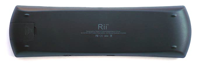 Rii Mini i24 FLY Wireless (layout Español) - Mini teclado con ratón giroscópico para Smart TV, Mini PC Android, PlayStation, Xbox, HTPC, PC, Raspberry Pi: ...